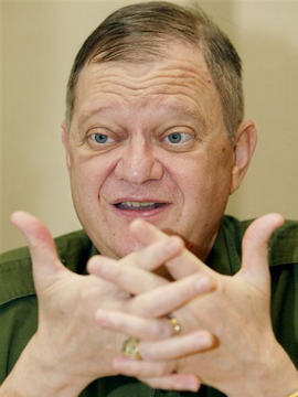 This May 2004 photo shows author Tom Clancy in New York.