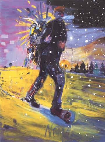 """Matt Blackwell's """"Winter Stealing the Sun."""""""