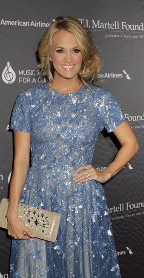 Carrie Underwood attends the TJ Martell Foundation 38th honors gala on Tuesday.