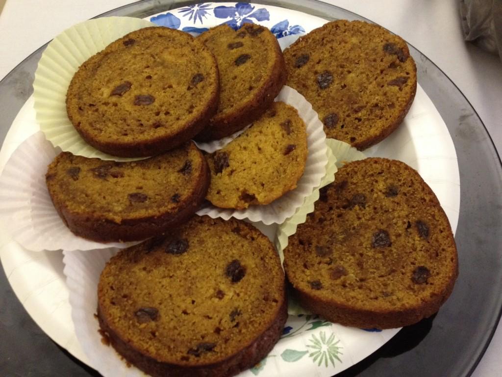 Rebecca Potter's Pumpkin Brown Cake won the Seashore Trolley Museum's dessert contest.