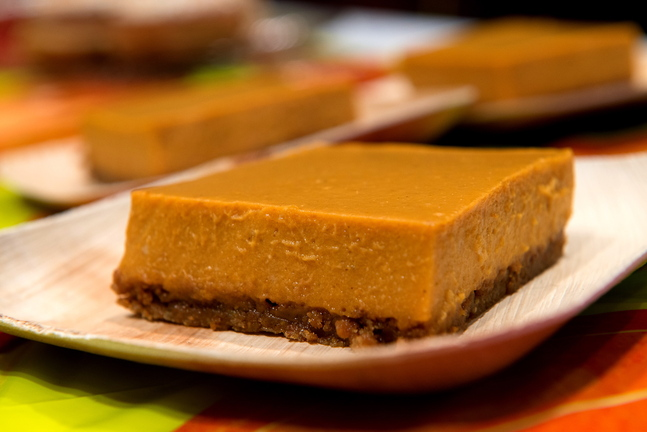 Pumpkin icebox pie by Emma Goltz was the first place winner in the ...