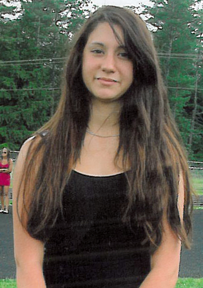 Photo released by Conway, N.H., police shows 14-year-old Abigail Hernandez of North Conway, N.H.