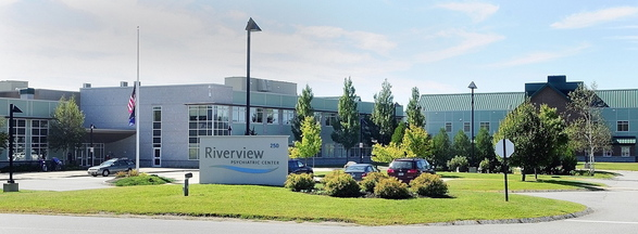 This 2012 photo shows the Riverview Psychiatric Center in Augusta. Patient advocacy groups have often complained that staffing at Riverview is inadequate, particularly for forensic patients.