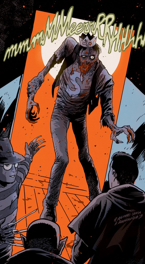 """This image released by Archie Comics shows the character Jughead from""""Afterlife With Archie."""""""