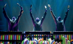 Blue Man Group is at Merrill Auditorium in Portland on Friday and Saturday, presented by Portland Ovations.