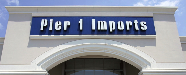 A Pier 1 Imports store is shown in Dallas. Pier 1 opened a store at the Maine Mall on Monday.