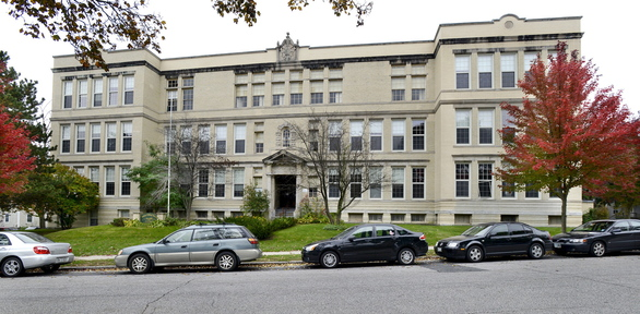 Nathan Clifford School in Portland is being sold to a developer who plans to build as many as 22 housing units in the three-story building on Falmouth Street.