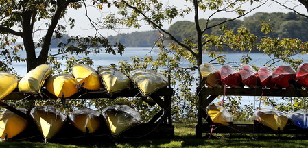 L.L. Bean offers instruction and tours in kayaks and on stand-up paddle boards – among more than a dozen activities at its Outdoor Discovery school in Freeport.