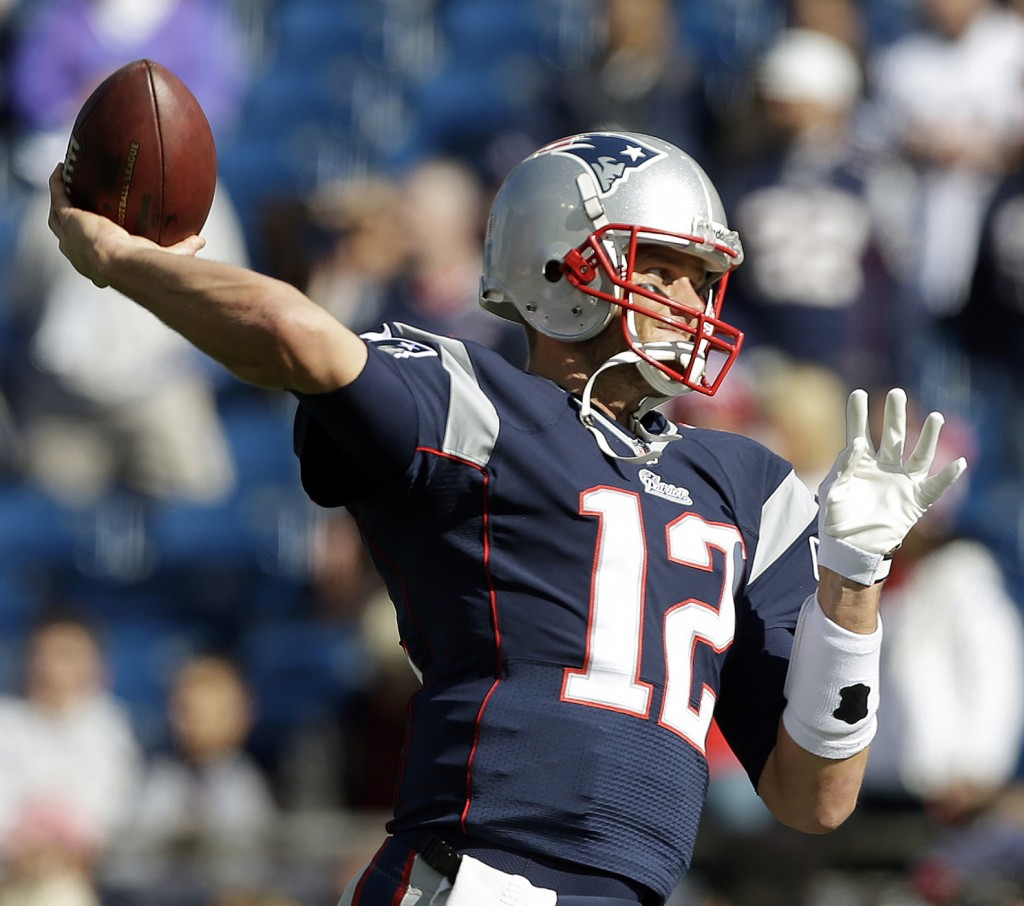 Quarterback Tom Brady's right hand didn't look so good on Sunday, and for much of the game his performance looked worse. But he says he's fit to go next week against Pittsburgh.