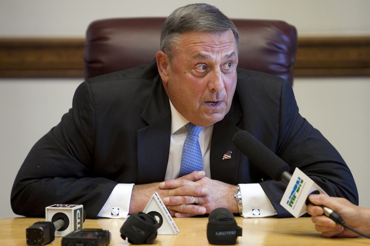 Gov. LePage's announcement of a civil emergency late Wednesday afternoon prompted speculation over how the governor planned to use this authority.