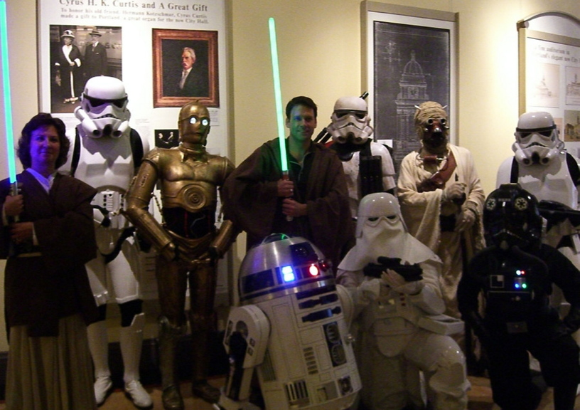 """The Portland Symphony Orchestra will present """"Star Wars Symphonic Spectacular,"""" with Norman Huynh conducting an hour-long program geared to children, in Portland on Oct. 20."""