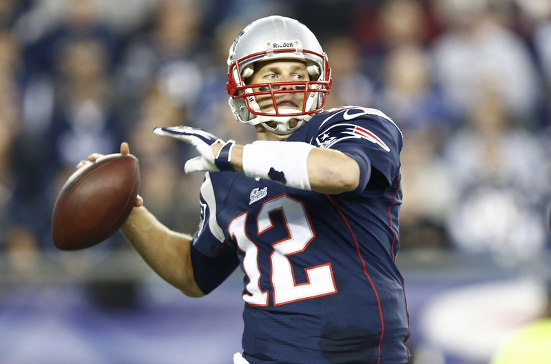 Tom Brady was on the verge of a second straight game without a TD pass, until he engineered the last-minute drive that saved the Patriots.