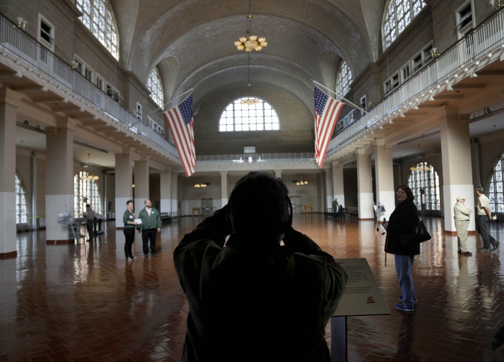 Just as the nation grew by assimilating the immigrants who arrived at Ellis Island, above, Maine could do more to grow its workforce by increasing services for newly arrived immigrants.