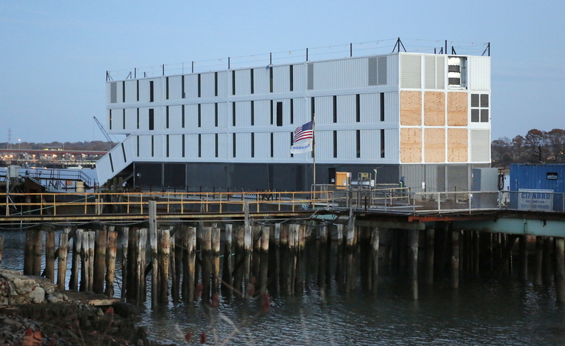 Google ended weeks of speculation on Wednesday by announcing that the structures on barges in Portland and San Francisco may be used as floating learning centers.