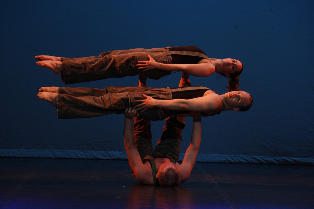 Galumpha will bring its inventive dance to a performance at Johnson Hall Performing Arts Center in Gardiner on Saturday.