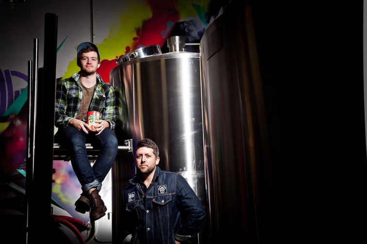 Noah, left, and Peter Bissell are launching Bissell Brothers Brewing Co. in Portland.