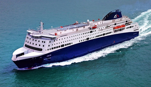 The Nova Star's new line of work is not going as smoothly as expected. Shippax reports that the ferry's bow ramp is too short for the berth in Tangier, and the ramp will have to be extended before the ferry can operate.