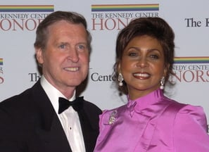 Former Secretary of Defense William Cohen and his wife, Janet Langhart.