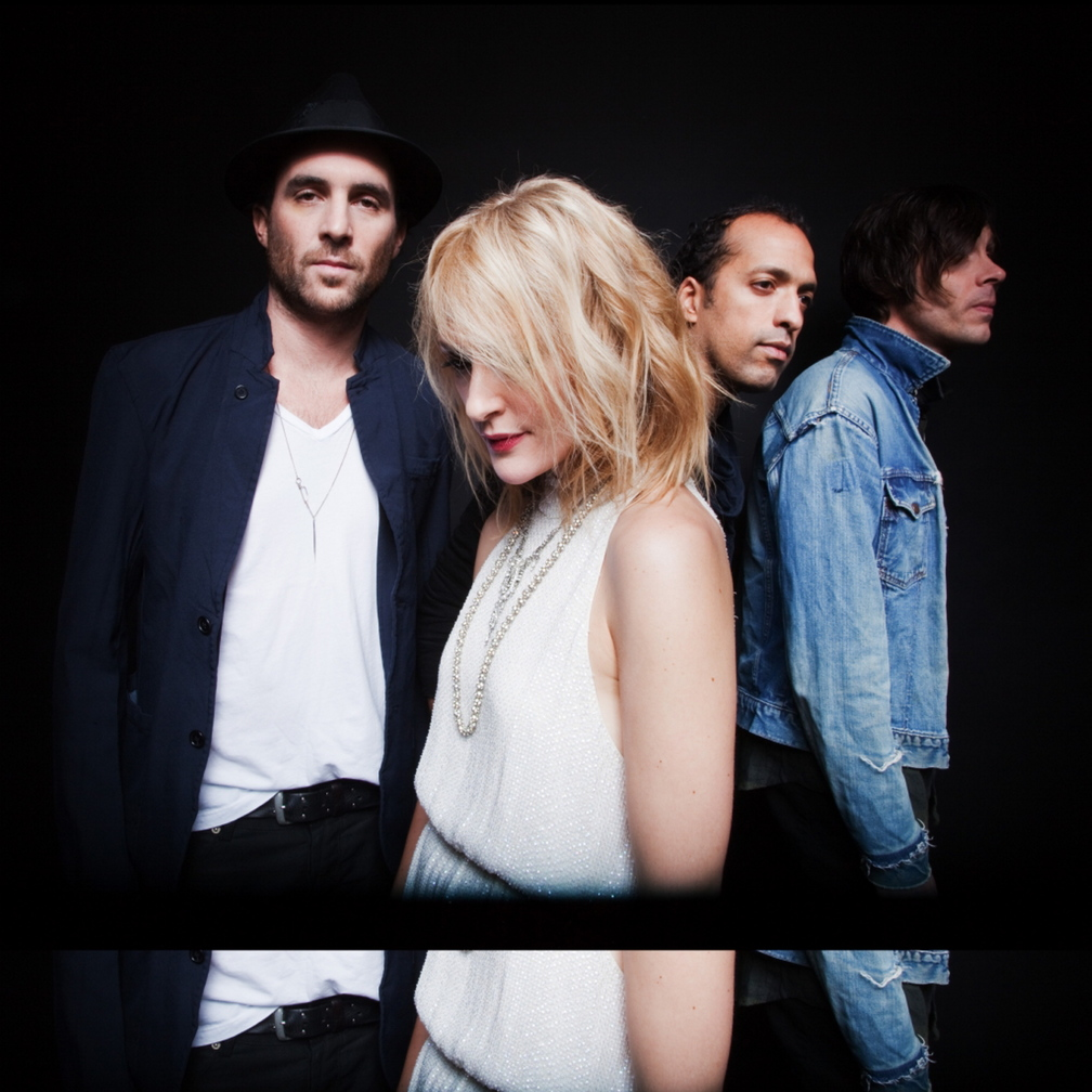 Metric is James Shaw, Emily Haines, John Winstead and Joules Scott-Key.