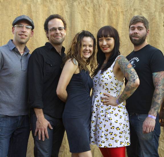 The Canadian folk outfit The Duhks is at Stone Mountain Arts Center in Brownfield on Sunday. Hoots and Hellmouth also performs.