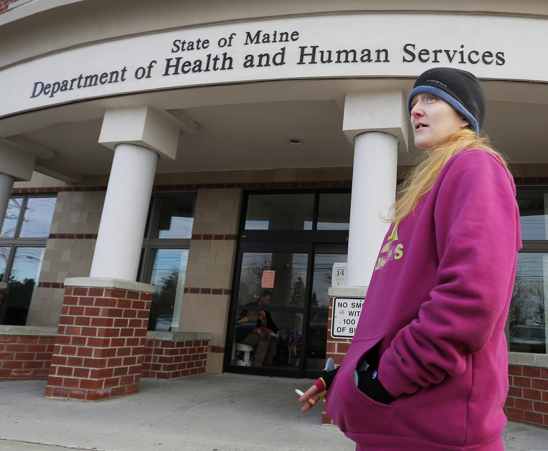 Lisa Harmon of Westbrook said Monday that she thinks the DHHS plan to move its offices from Marginal Way in Portland to South Portland would inconvenience many agency clients.