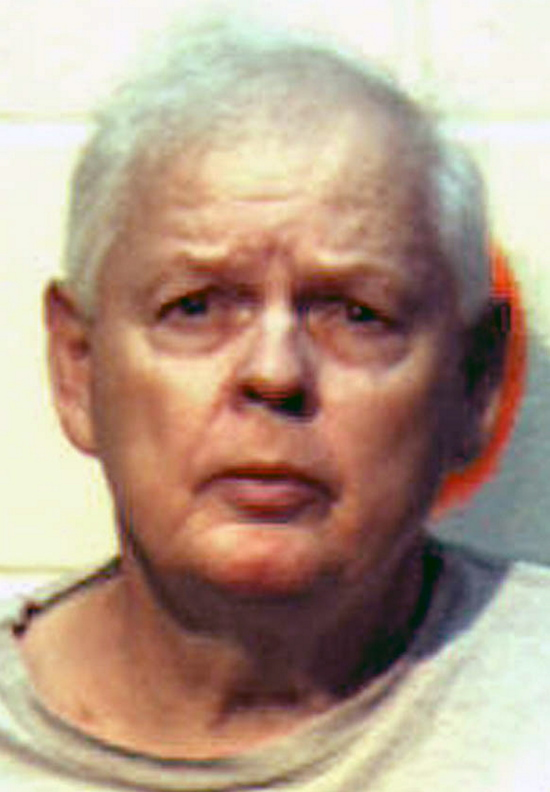 """This photo provided by the Presque Isle Police Deptartment shows George Jaime Sr. The 75-year-old from Presque Isle was arrested Thursday, July 12, 2012 and charged with murder in the 1998 death of Starlett """"Star"""" Vining."""