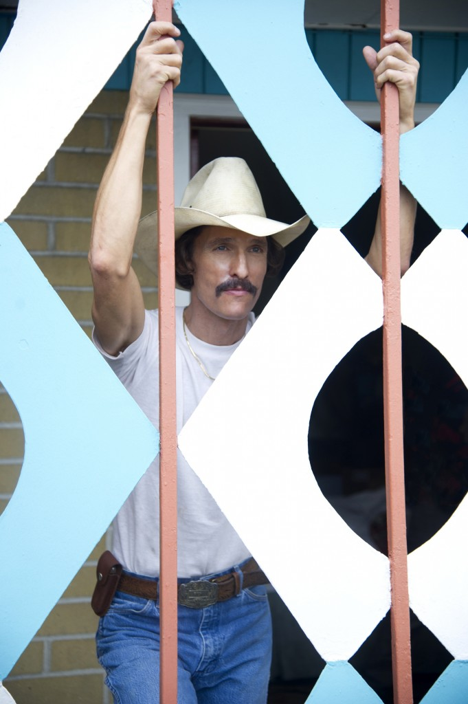 """Matthew McConaughey as Ron Woodroof in a scene from """"Dallas Buyers Club."""""""