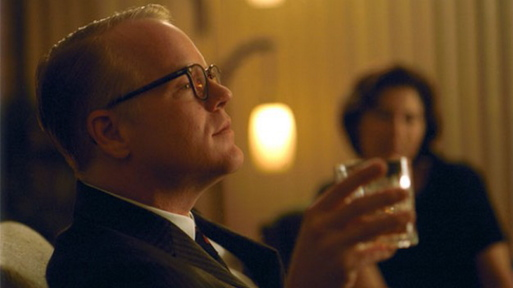 """""""Capote,"""" starring Philip Seymore Hoffman, will be shown for free Thursday at the Portland Public Library as part of its National Novel Writing Month Film Series."""