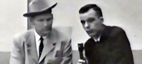 TV reporter Bill Lord, who now lives in Maine, interviews Detective James Leavelle, who was escorting JFK assassin Lee Harvey Oswald when he Oswald was shot.
