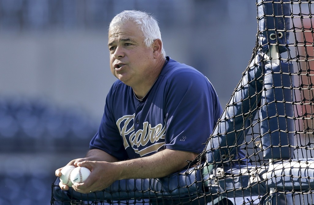 Rick Renteria, who managed the Sea Dogs for two years, was the San Diego bench coach last year. The Cubs are set to name him manager.