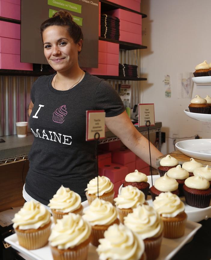 Alysia Zoidis owns East End Cupcakes in Portland.