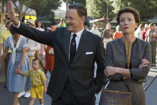 "Tom Hanks and Emma Thompson in ""Saving Mr. Banks."""