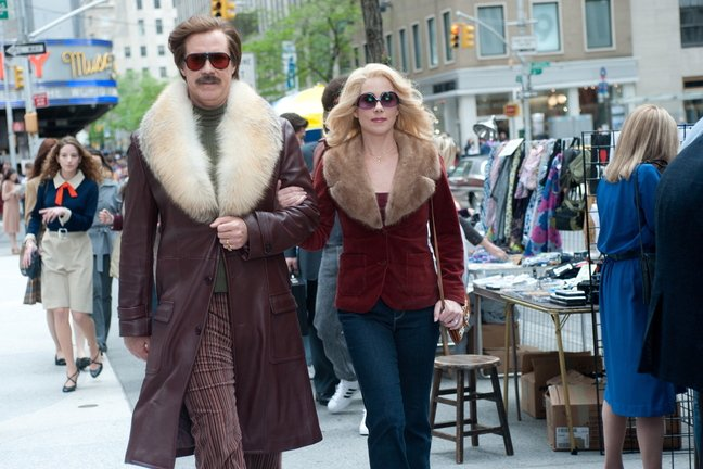 """Will Ferrell and Christina Applegate """"Anchorman 2: The Legend Continues."""""""