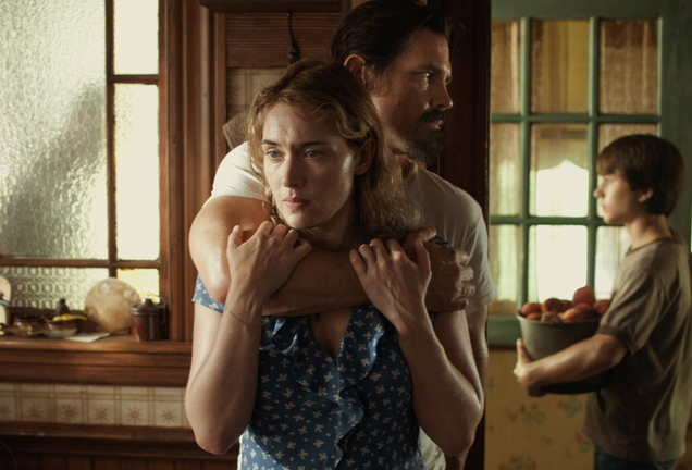 """Kate Winslet, Josh Brolin and Gattlin Griffith in """"Labor Day."""""""