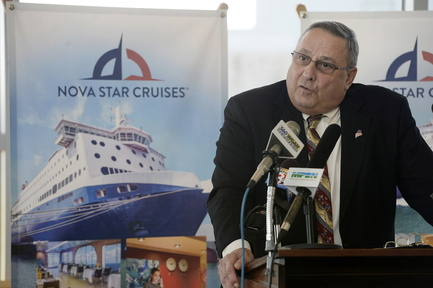 """""""This ferry is going to be a great thing"""" for both Maine and Nova Scotia, Gov. Paul LePage said Monday at a news conference in Portland."""