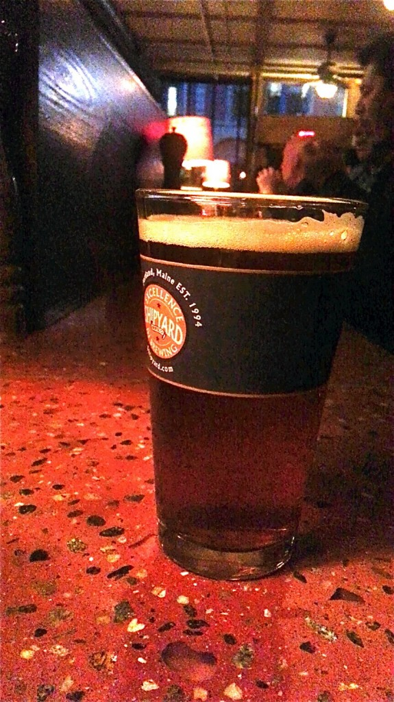 All 12 draught beers and wines by the glass are $3 during happy hour.