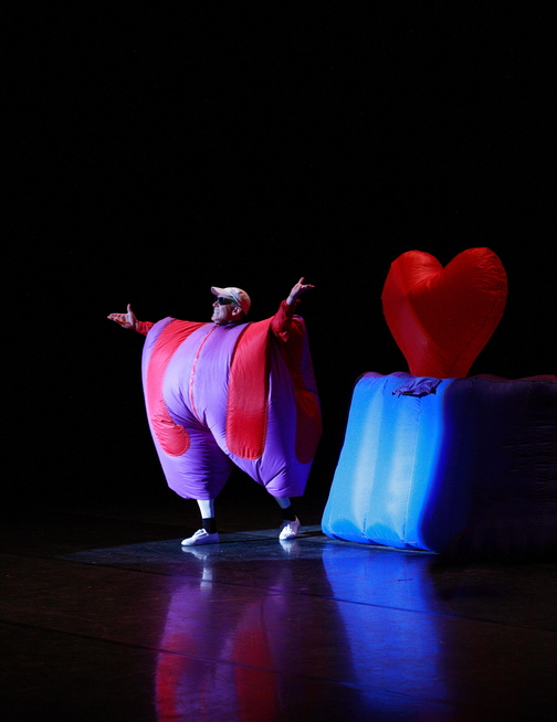 Fred Garbo's Inflatable Theater Company, featuring Garbo and his pop-action inflatables of all shapes and sizes – and including mime, juggling and acrobatics – performs at the Westbrook Performing Arts Center on Saturday.
