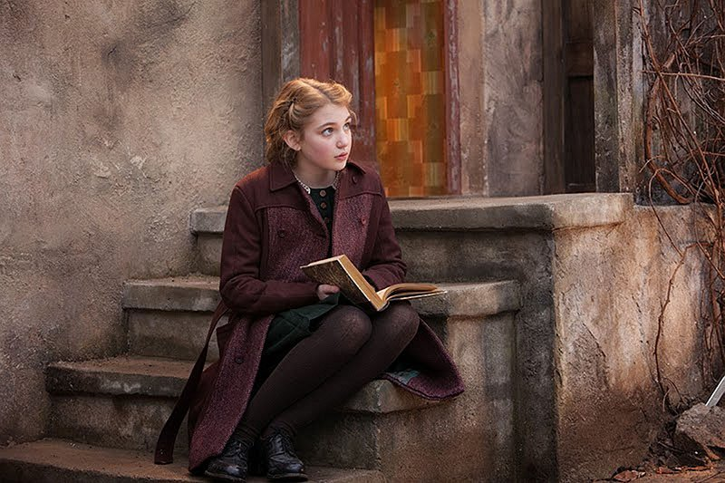 Sophie Nelisse stars as a girl who finds solace by stealing books and sharing them with others amid the horrors of World War II Germany in