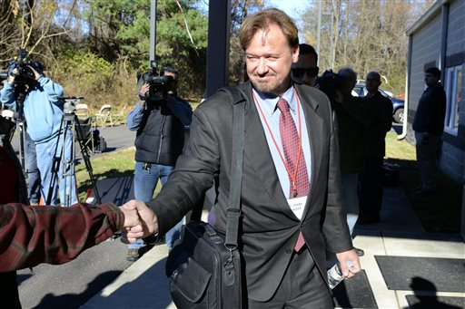 Rev. Frank Schaefer returns Monday to the retreat house in Spring City, Pa., where a jury of other pastors were hearing charges against him for officiating over his son's marriage to another man. Schaefer was convicted of breaking church law and could be defrocked.