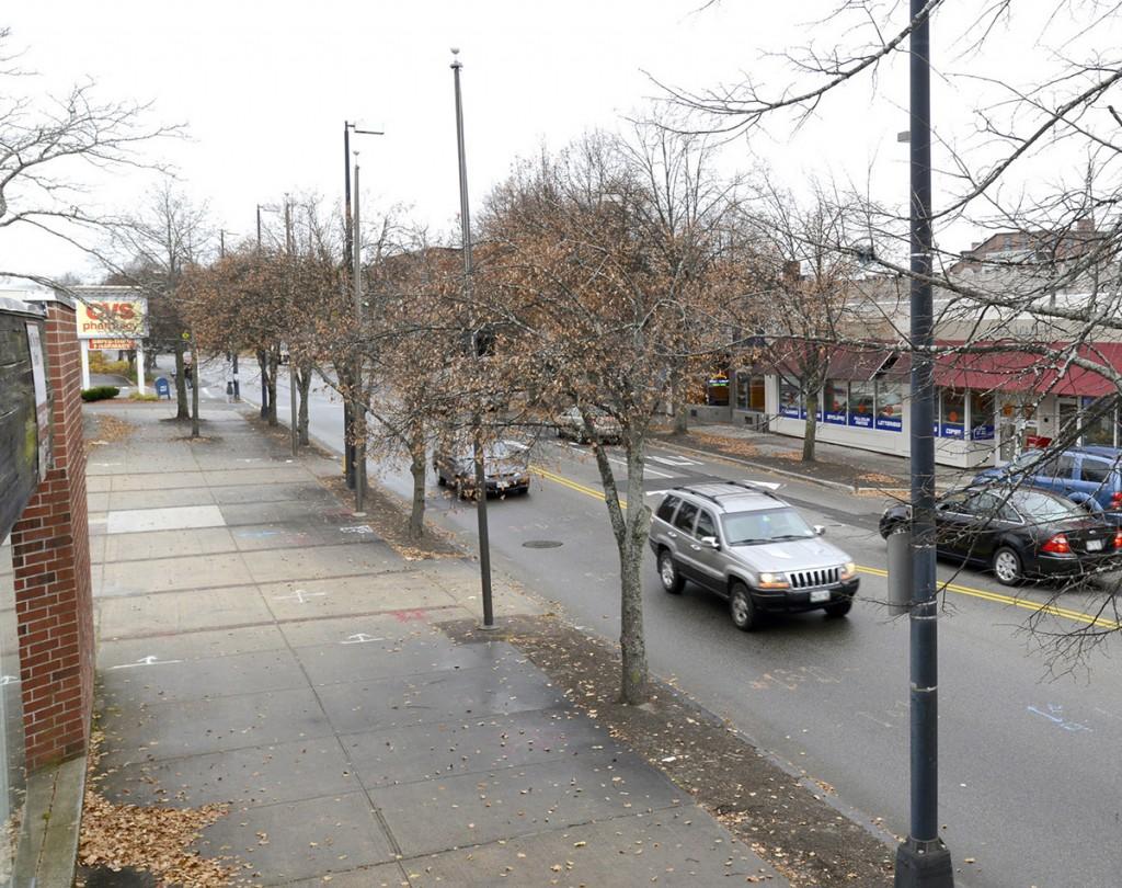 John Patriquin/StaffPhotographer: Thurs., Nov.7, 2013. Downtown Westbrook for a Flashback comparison. Flashback