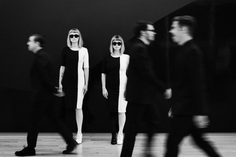 The indie-pop band Lucius is at Port City Music Hall in Portland on Wednesday.