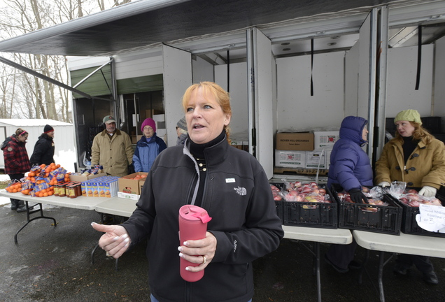 Kim Gates runs the food truck.