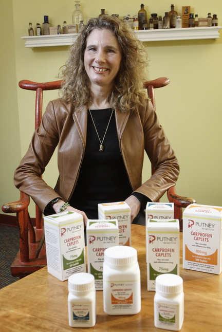 Jean Hoffman is president of Putney Inc., a veterinary pharmaceutical company that has been chosen to receive this year's Business of the Year Award from the city of Portland.