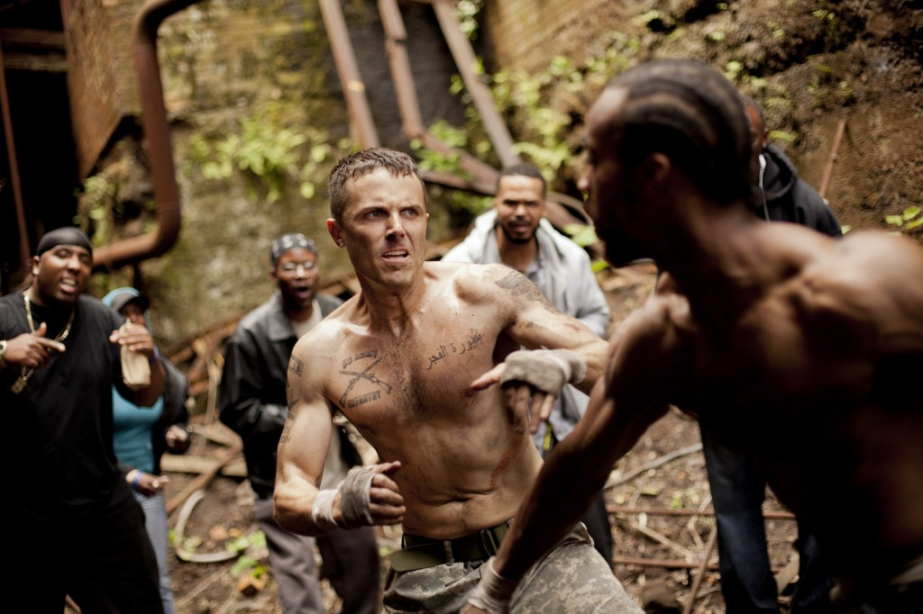"Casey Affleck's character gets involved in an underground fight ring in ""Out of the Furnace."""