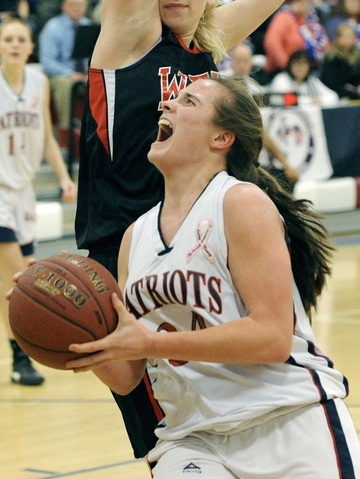 Maria Valente of Gray-New Gloucester is a two-time all-Western Maine Conference selection who hopes to propel the Patriots deep into the tournament.