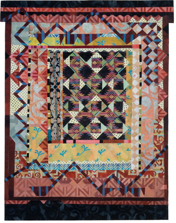 Portland artist Alice Spencer exhibits a series of new work based on the textile tradition of patchwork, which is found all over the world. The show,