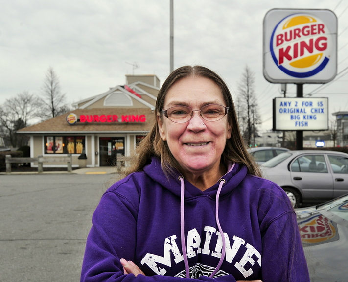 "Billie Jo Leeman of Westbrook said her short stint at a McDonald's was ""the hardest job I've ever done for $6.75 (an hour)."""