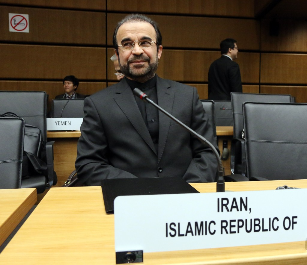 Reza Najafi, Iran's International Atomic Energy Agency envoy, awaits a meeting of the board of the U.N.'s nuclear watchdog in Vienna on Nov. 28. A nuclear deal with Tehran merits serious consideration, a reader says.