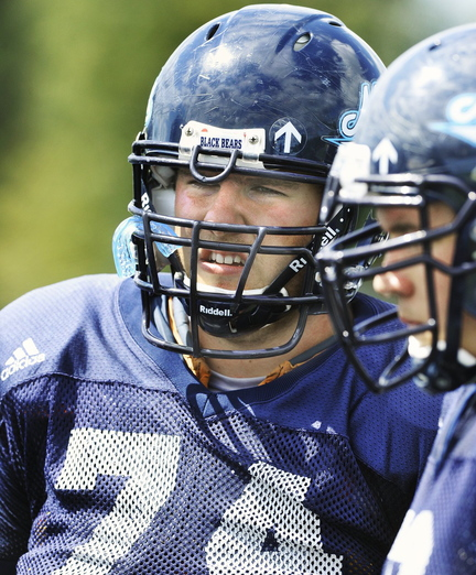 Josh Spearin used his eligibility and won't be on the field with others who enrolled at UMaine the same month, but his spirit remains with the team.