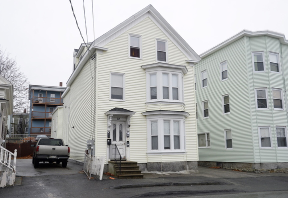 Police tried to negotiate with Tyler Trottier, 27, the suspect in a string of robberies, at 12 King St. in Biddeford.